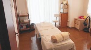 アルルネ鍼灸治療サロン施術室の画像