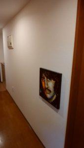 19廊下に飾ったリンゴスターの画像